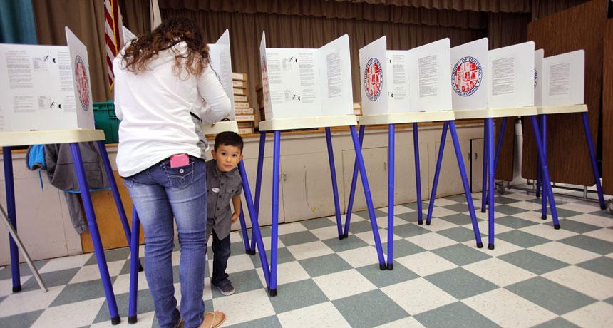 لماذا لا يقبل الناس على الانتخابات ؟ ( دراسة حالة الولايات المتحدة الامريكية )