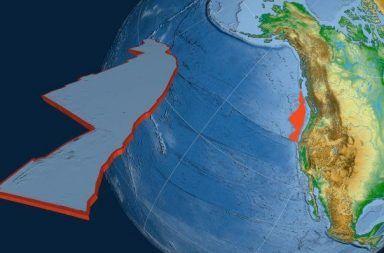 هل يشهد العالم موت إحدى الصفائح التكتونية صفيحة تكتونية تحت المحيط على طول الساحل الغربي للولايات المتحدة ساحل شمال كاليفورنيا