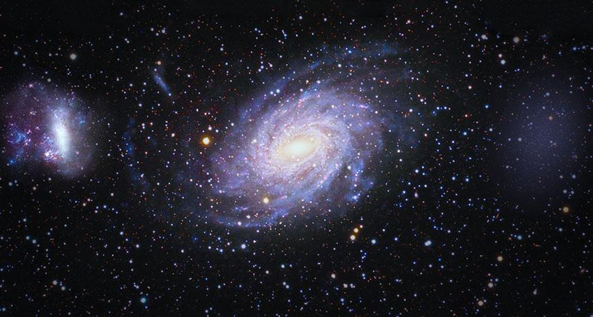 19 مجرة تخلو من المادة المظلمة.. والسبب غير معروف - لماذا لا تحتوي جميع المجرات في الفضاء على المادة المظلمة - اكتشاف جديد في علوم الفضاء