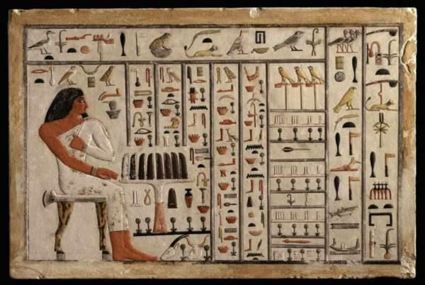 الرياضيات عند المصريين القدامى