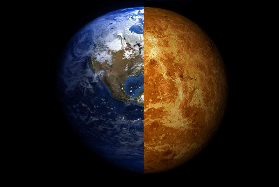 ربما لم يكن كوكب الزهرة شبيهًا بالأرض كما اعتقدنا وقت مبكر من حياة المجموعة الشمسية هل كان سطح كوكب الزهرة مغطى بالمحيطات السائلة
