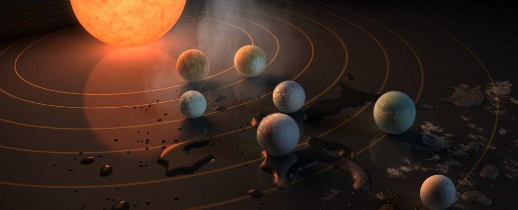 هل تذكرون كواكب Trappist الشبيهة بنظامنا الشمسي؟ تفاجأ العلماء بأنها أقرب لاستضافة الحياة مما كانوا يعتقدون
