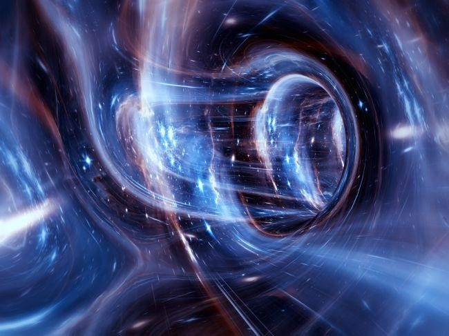 تنشأ الجاذبية من تشوه في الزمكان.