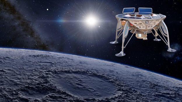 ما سبب صعوبة الهبوط على سطح القمر ؟