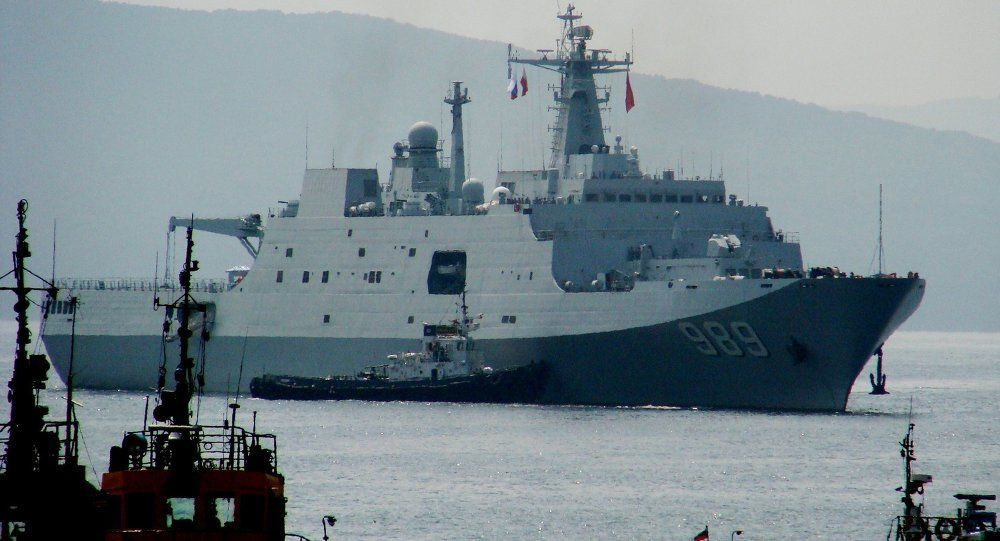 صورٌ مسربةٌ تُظهر سلاحًا خارقًا لا يقهر على متن سفينةٍ حربيةٍ صينيةٍ