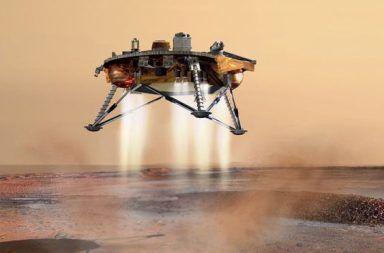 تربة المريخ غريبة جدًا، مشهد من جهود مسبار الخلد المسبار الحراري الجارف على متن سفينة الفضاء إنسايت مارس لاندر InSight Mars lander التابعة لناسا