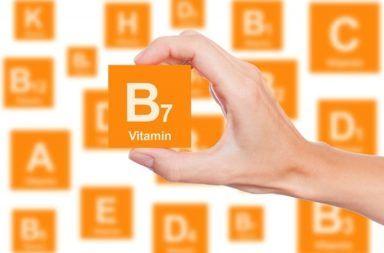 البيوتين أو فيتامين B7 مركب فيتامين B قابل الذوبان في الماء فيتامين يساعد الجسم في عمليات أيض البروتينات ومعالجة الجلوكوز فيتامين H