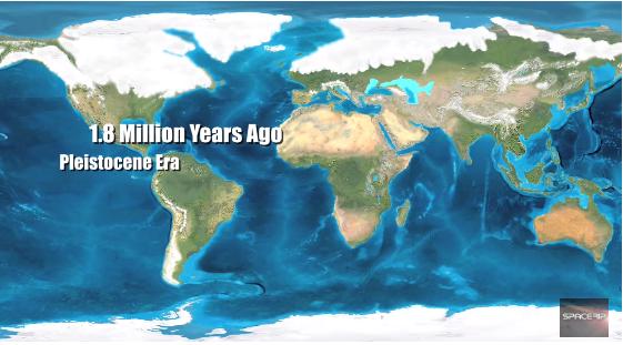 كيف سيكون شكل الأرض بعد 100 مليون سنة قارة بانجيا العصر الكامبري ملايين السنين الصفائح التكتونية الصفيحة القارية القارات أوراسيا