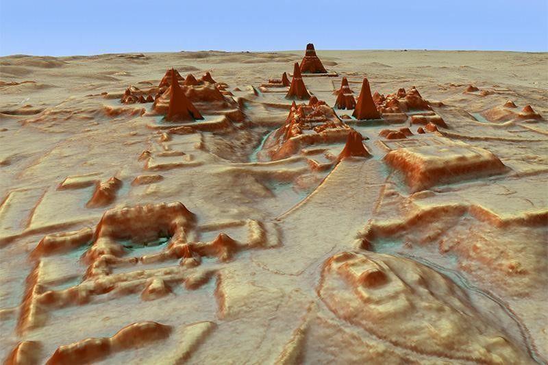 خريطة ثلاثية الأبعاد