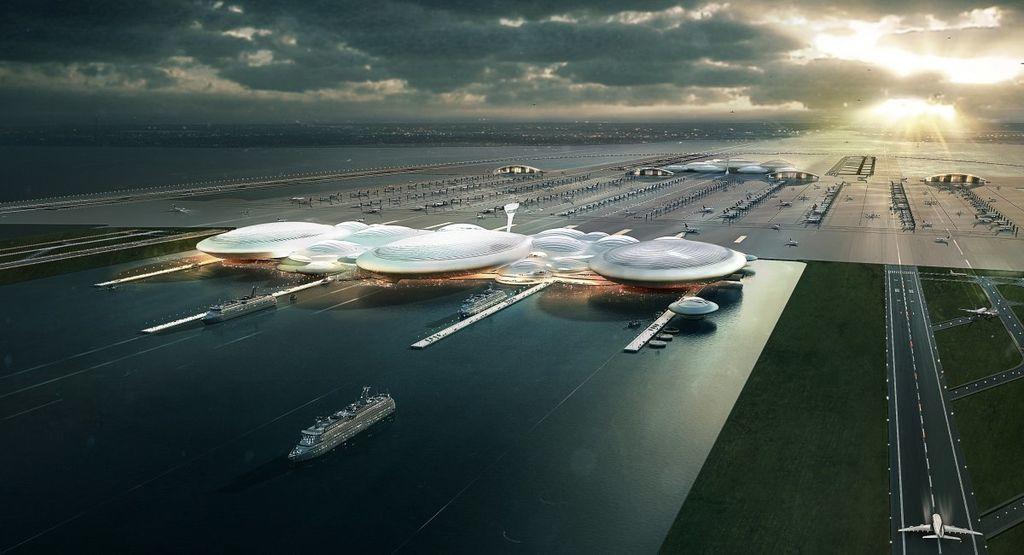 المطارات العائمة: لم يعد البحر حكرًا على السفن