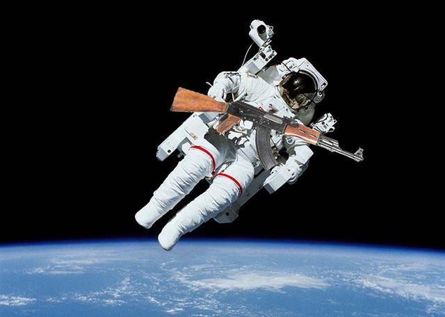 ما الذي سيحصل إذا أطلقت رصاصة في الفضاء؟