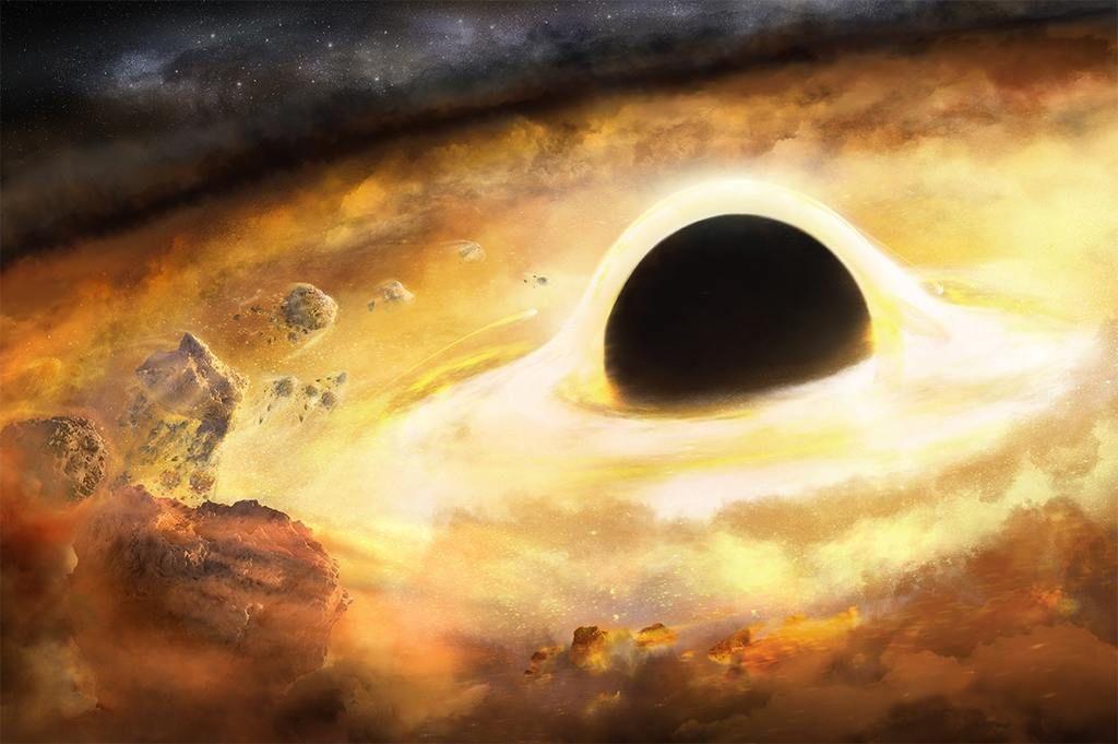 كيف يقدّر العلماء كتلة ثقب أسود؟