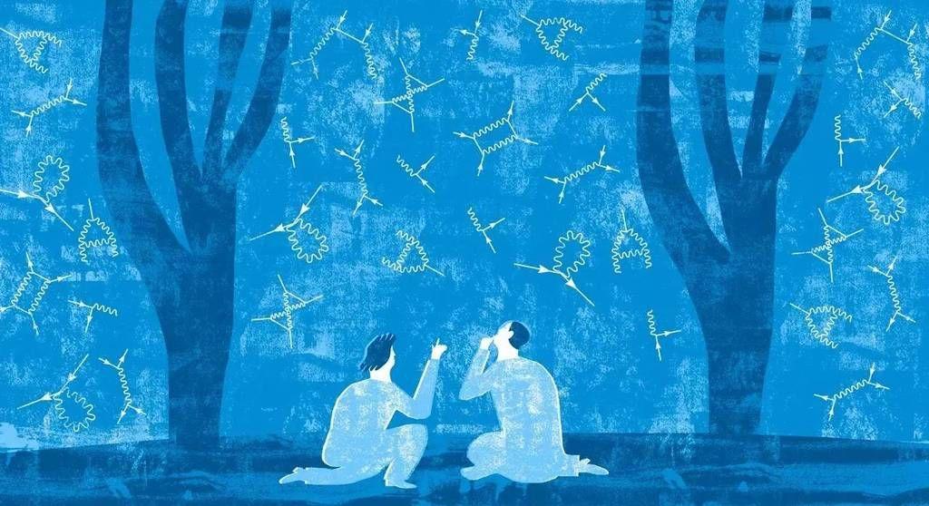 الرسوم البيانية لريتشارد فينمان تجسد تحولًا في التفكير حول كيفية تشكل الكون