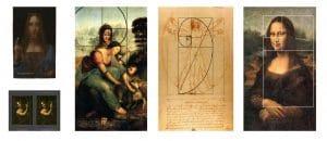 النسبة الذهبية في بعض أعمال دافنشي