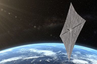 المهمة Lightsail 2 تفرد شراعها لركوب الأمواج الشمسية الأمواج الشمسية تقنية دفع للمركبات الفضائية بدل الوقود الإبحار باستخدام الفوتونات الشمسية الشراع الشمسي