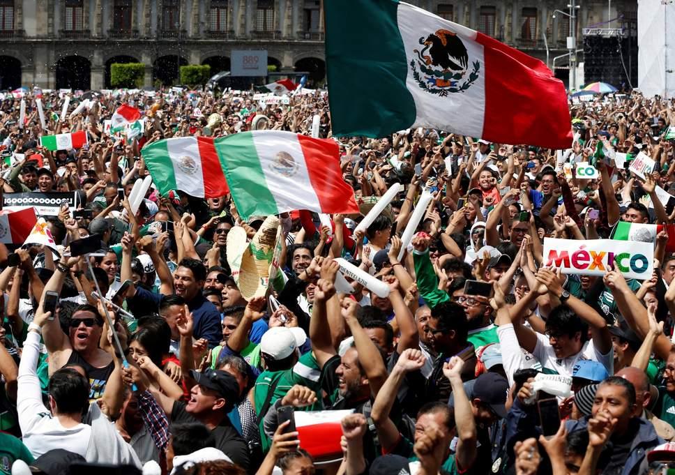 حماس مشجعي منتخب المكسيك يتسبب بهزة أرضية