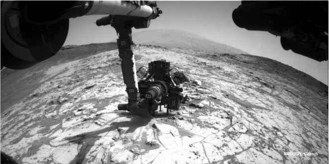 على المريخ ، الحياة قد تكون مختبئة أسفل الصخور