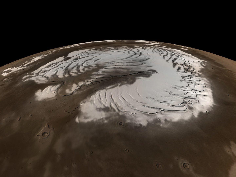 هل تتساقط الثلوج في الفضاء؟
