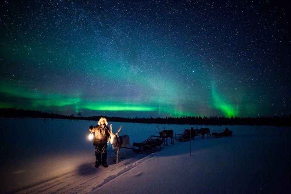 أضواء السماء فوق القطب الشمالي