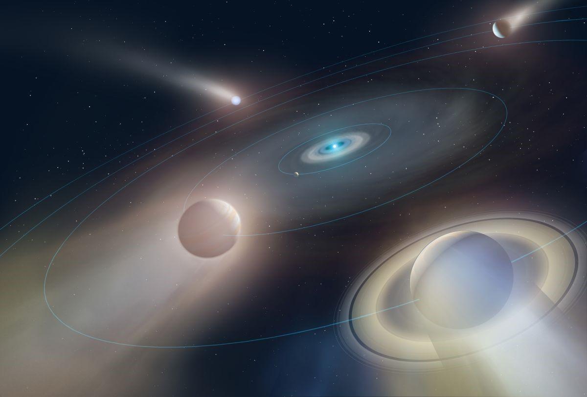 في سابقة فلكية، رصد أدلة على وجود كوكب يدور حول قزم أبيض - اكتشف العلماء قزمًا أبيض يدور حوله كوكب - آخر اكتشافات علماء الفضاء