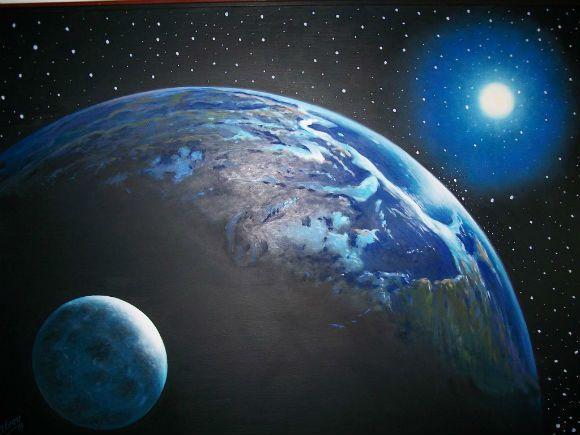 لماذا تدور الارض باستمرار؟