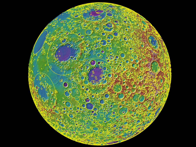 ماذا تخبرنا فوهات النيازك على القمر عن الارض و النظام الشمسي ؟