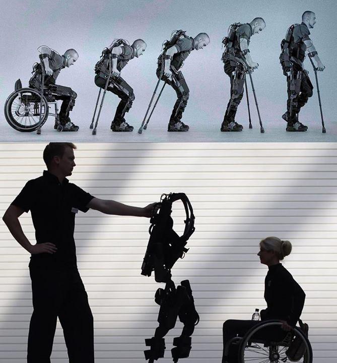 الهيكل الالي: العلم يعطي المصابين بالشلل السفلي فرصة اخرى للمشي على أقدامهم
