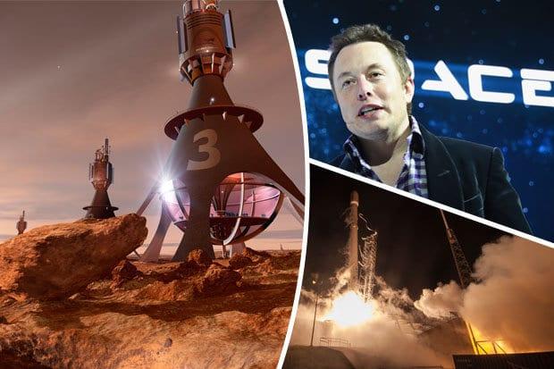 SpaceX تعلن عن إرسالها مركبة فضائية للمريخ قريباً جداً