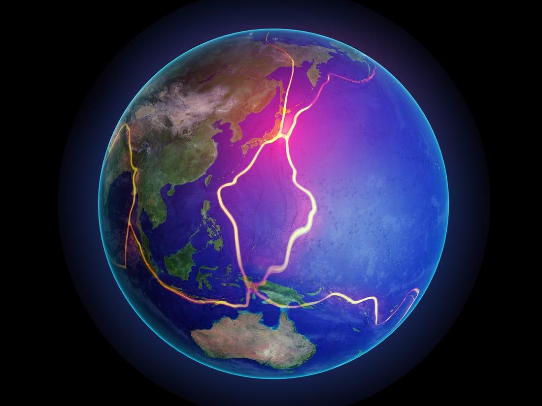 القارة المفقودة من زيلانديا تخفي دلائل عن ولادة منطقة الحزام الناري - اضطراب في وقت ولادة منطقة الحزام الناري في المحيط الهادئ