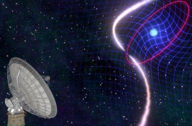 الزمكان ينحني حول نجم محتضر.. ويثبت مجددًا أن أينشتين كان محقًّا! - الزمكان يهتز بالفعل متأثرًا بالأجسام الدوارة الهائلة - شد الإطار المرجعي