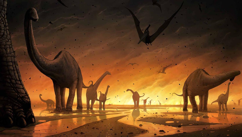 علماء يكتشفون أن اختفاء الديناصورات كان قبل ضرب نيزك تشيكسولوب للأرض