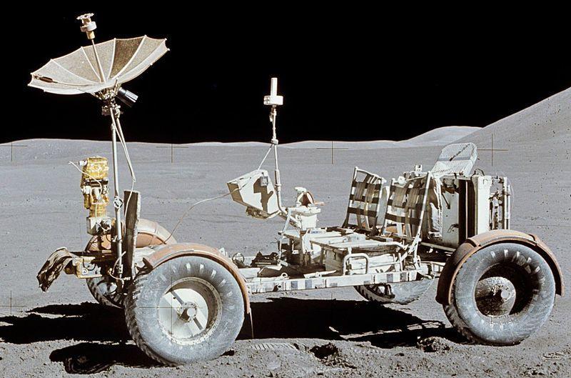 صورة للعربة القمرية الخاصة ببرنامج أبوللو.