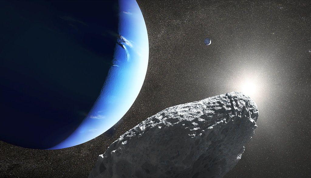 أقمار كوكب نبتون الأقمار