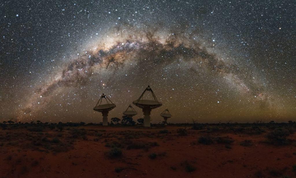 تصميم أداة بتقنية الذكاء الاصطناعي لتعقب الإشارات الراديوية الغامضة التلسكوبات الراديوية على الأرض موجات الراديو القادمة من الفضاء
