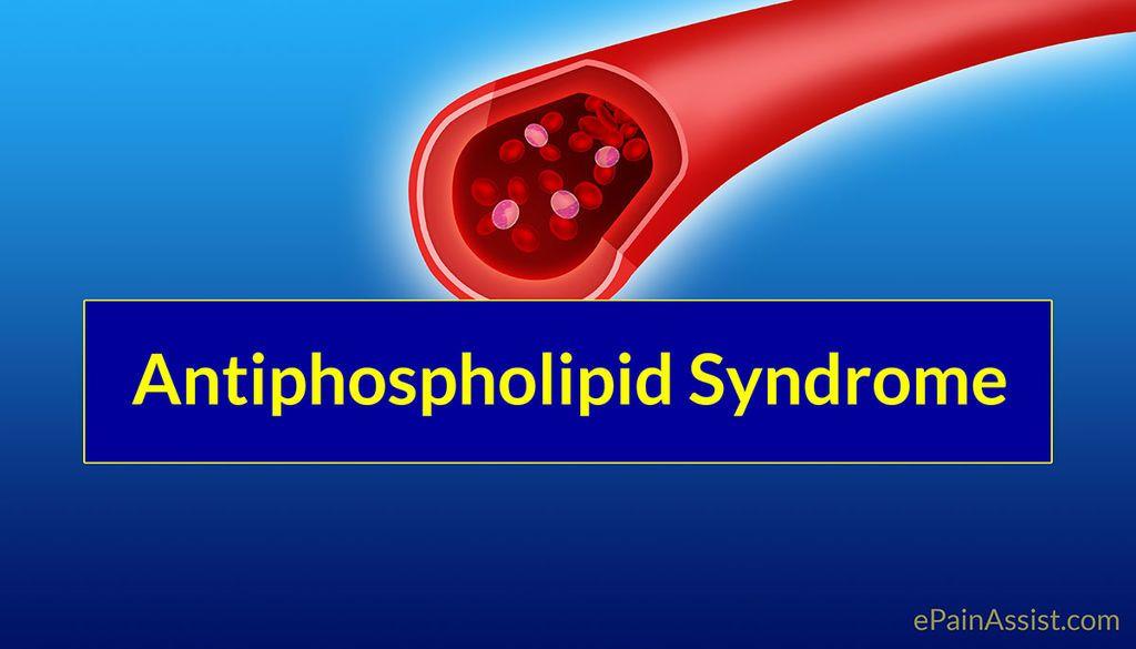 متلازمة أضداد الفوسفوليبيد
