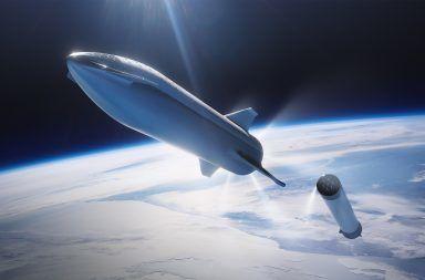 نموذج عن صاروخ Space X الذي سيوصلنا إلى المريخ قد يكون جاهزا خلال شهر صاروخ إيلون ماسك الذي سياعد البشر في الصول إلى الفضاء