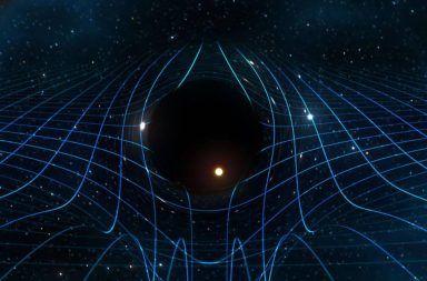للمرة الأولى، يكتشف العلماء رنين ثقب أسود حديث المنشأ خصائص رنين موجات الجاذبية كتلة ودوران ثقب أسود ناشئ حديثًا صوت الطنين