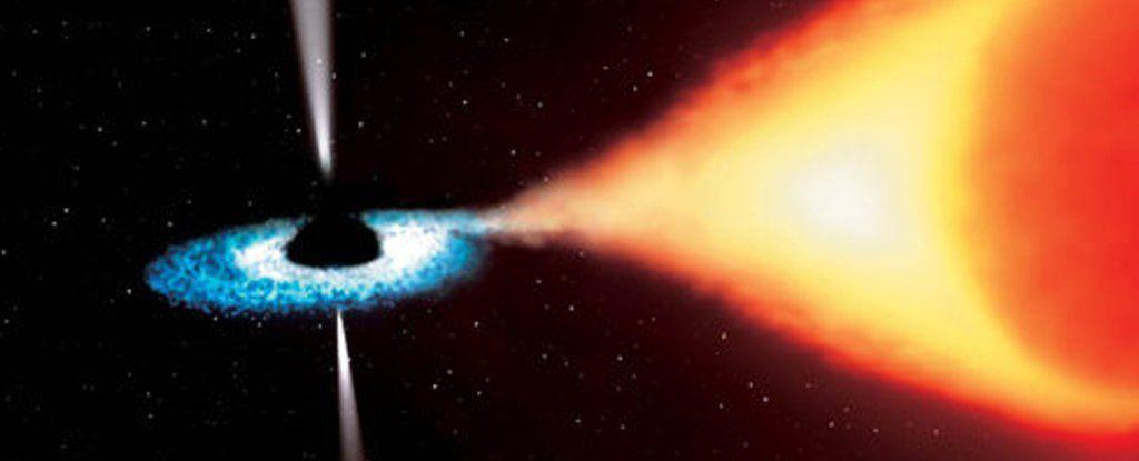 وجد علماء الفلك ثقبًا أسود يتقلص بشكل غامض