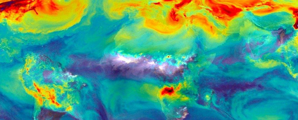 كمية هائلة من غاز ثنائي أكسيد الكربون « CO2 » المحبوس في التربة بدأت بالتسرب بالفعل !