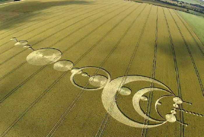 دوائر المحاصيل: ظاهرة تشكل لغزا غامضا حتى الآن!