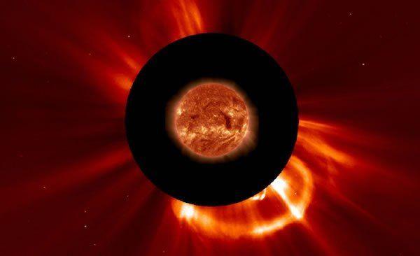 ماذا يحدث عندما تلتهم الشمس مذنبًا؟