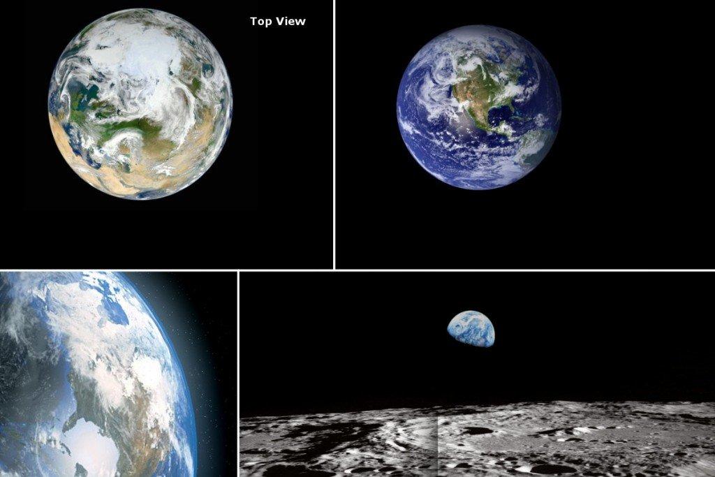 لماذا لا نرى أي أقمار صناعية في الصورة التي نلتقطها للأرض؟ - لماذا لا نرى الأقمار الاصطناعية التي تدور حول الأرض؟ - محطة الفضاء الدولية