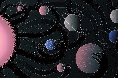 ما هي الجاذبية من منظور الفيزياء الحديثة الجاذبية الكمية نظرية آينشتاين نظرية نيوتن القوى الأساسية في الطبيعة القوة التي تربط الكواكب والنجوم