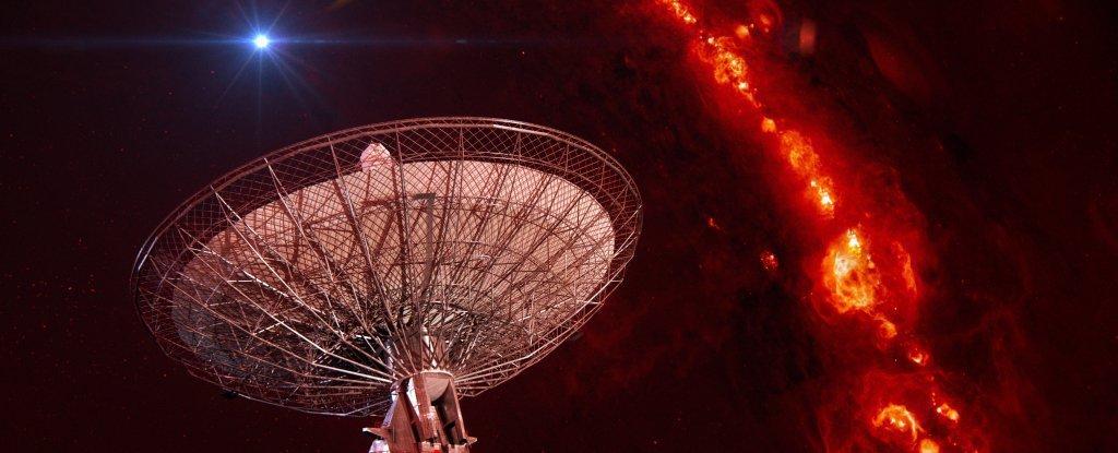 التقاط ست اشارات راديوية غامضة تاتي من خارج مجرتنا !