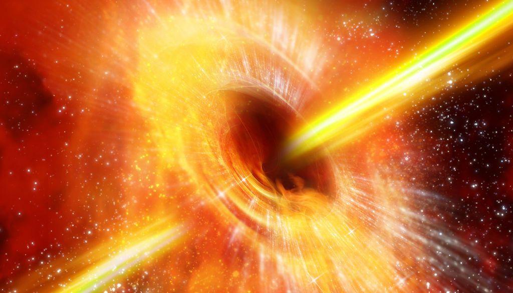 عثر علماء الفلك على ثقب أسود يتوهج بانتظام غريب!