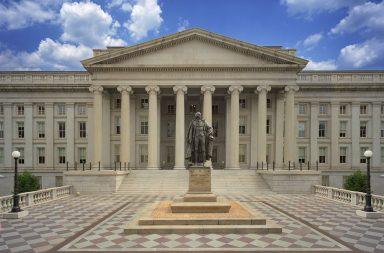 وزارة الخزانة الأمريكية - الوزارة الحكومية المسؤولة عن إصدار سندات الخزانة وأذوناتها وأوراقها - مكتب الدين العام - إدارة سك العملة