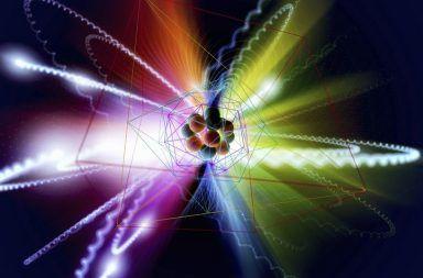 ما هي الجسيمات الأولية كيف ظهرت الجسيمات الأولية لأول مرة البروتونات الإلكترونات النيوترونات البوزونات الفوتونات بوزون هيجز