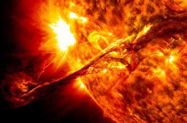 سخونة الشمس