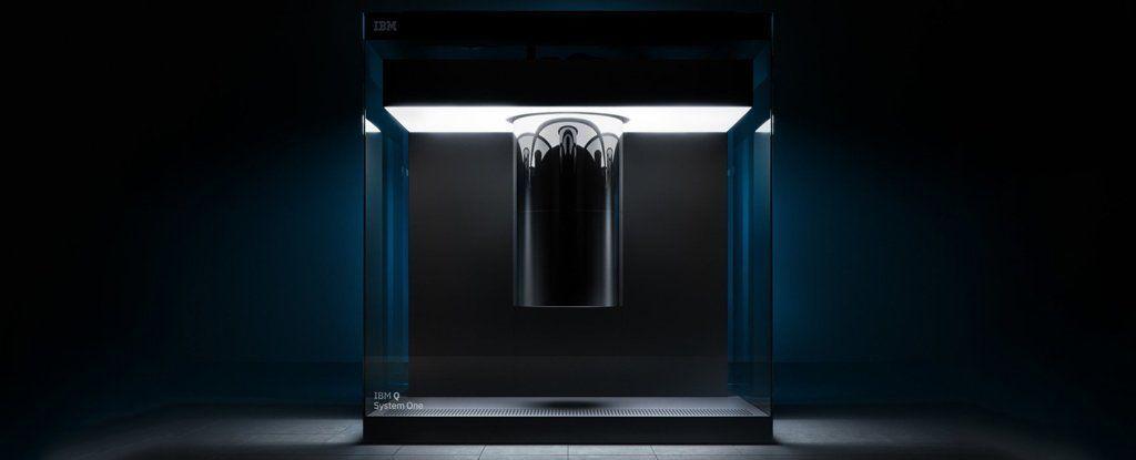 شركة IBM تكشف النقاب للتو عن أول كمبيوتر كمي تجاري