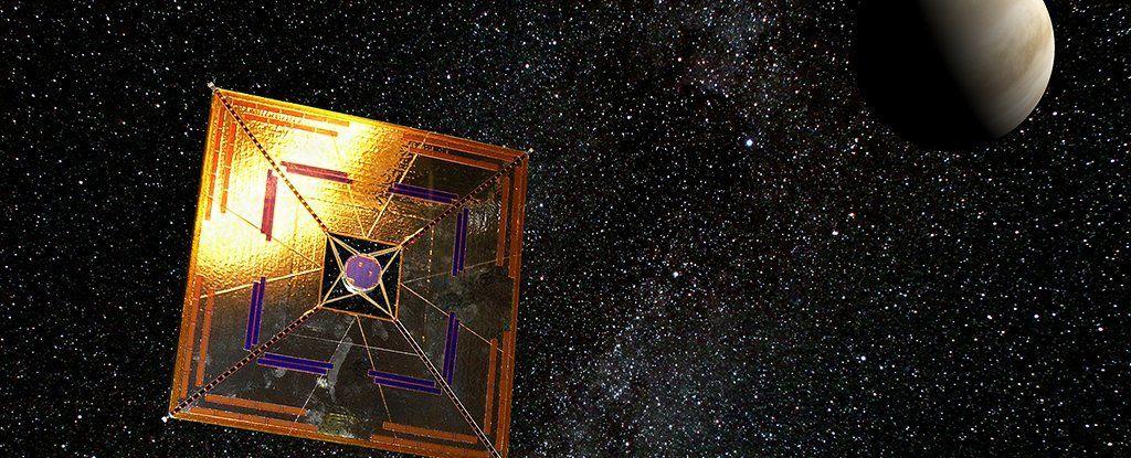 هذه المادة النانو ضوئية قد تساعد على دفع المركبات العابرة للنجوم بسرعة الضوء